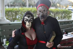Evil Priest Monk and Evil Temptress